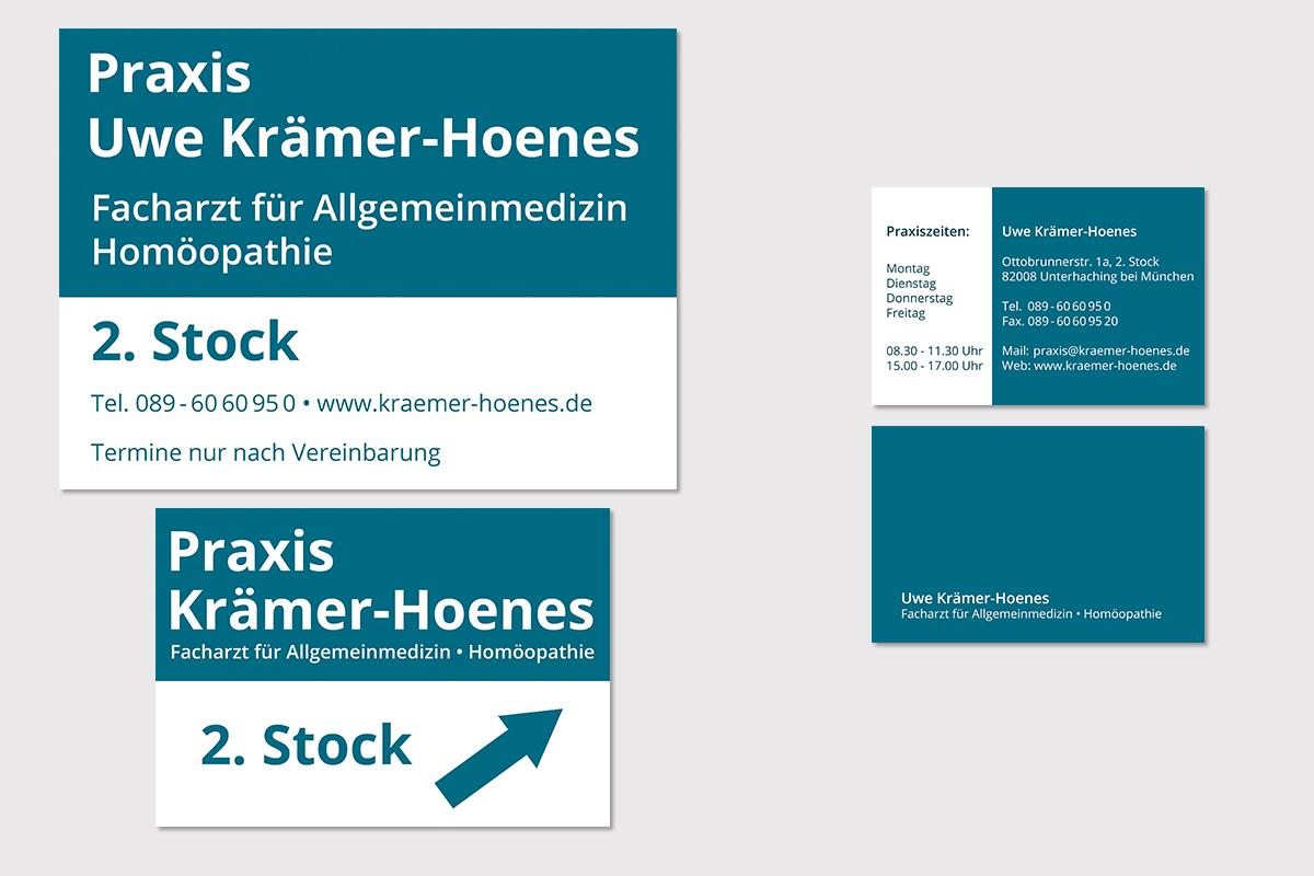 kraemer-hoenes-schilder-visitenkarte