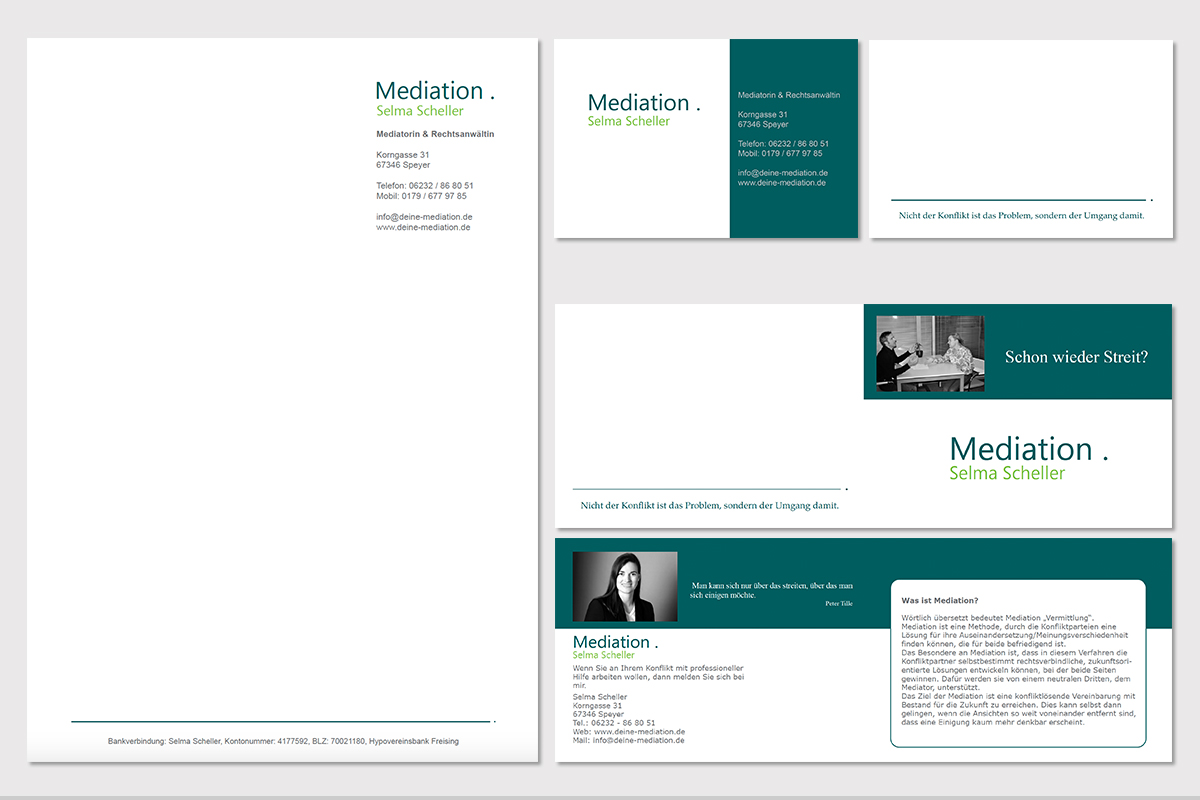 mediation-scheller-geschaeftspapiere-design