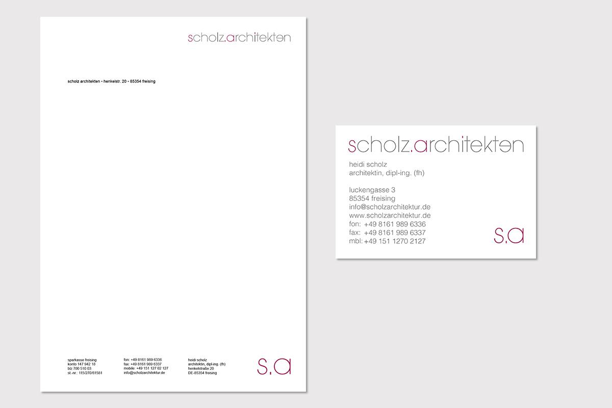 scholzarchiteken-briefpapier-visitenkarte