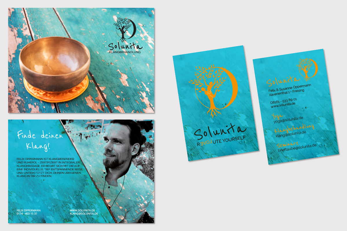 solunita-flyer-visitenkarten