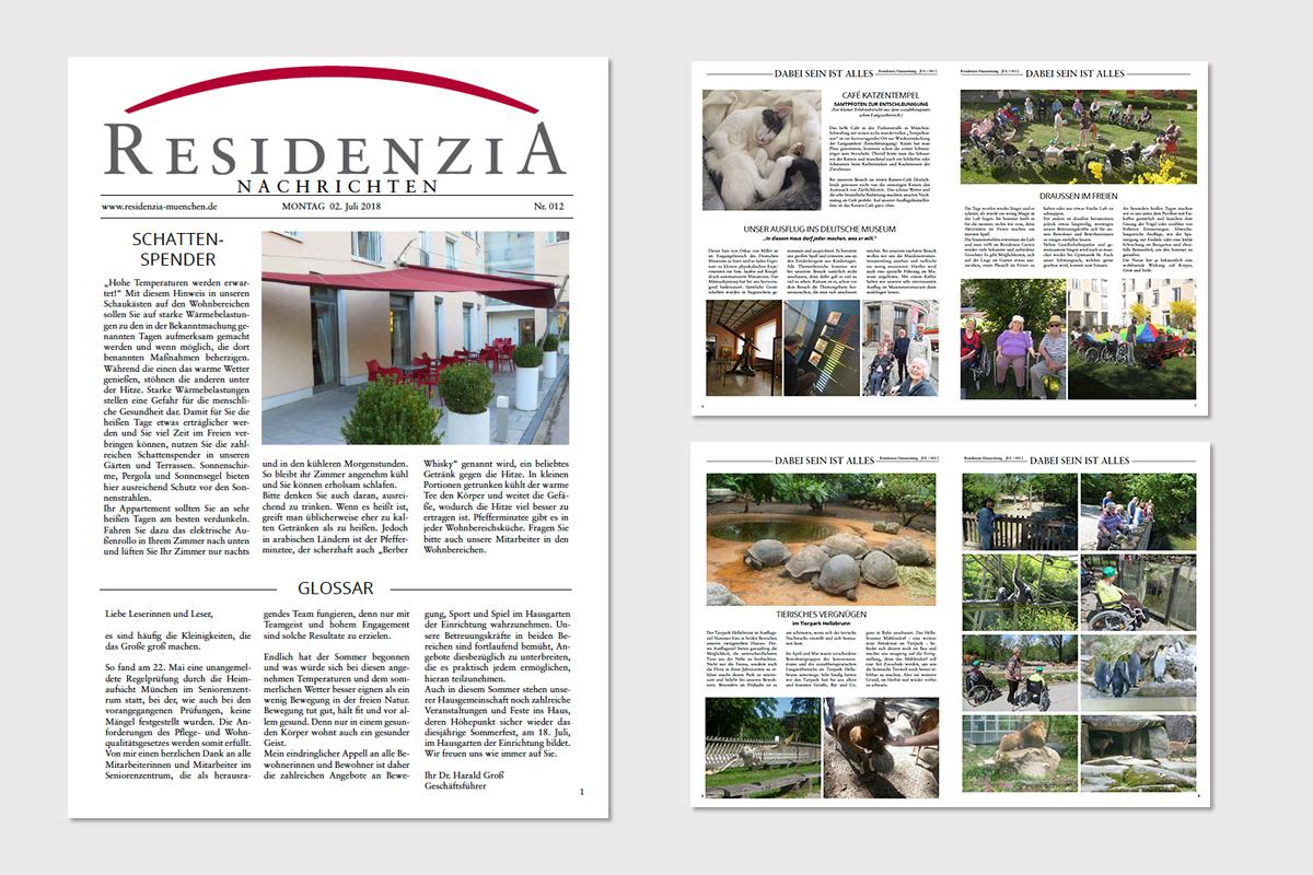 Residenzia-Hauszeitung