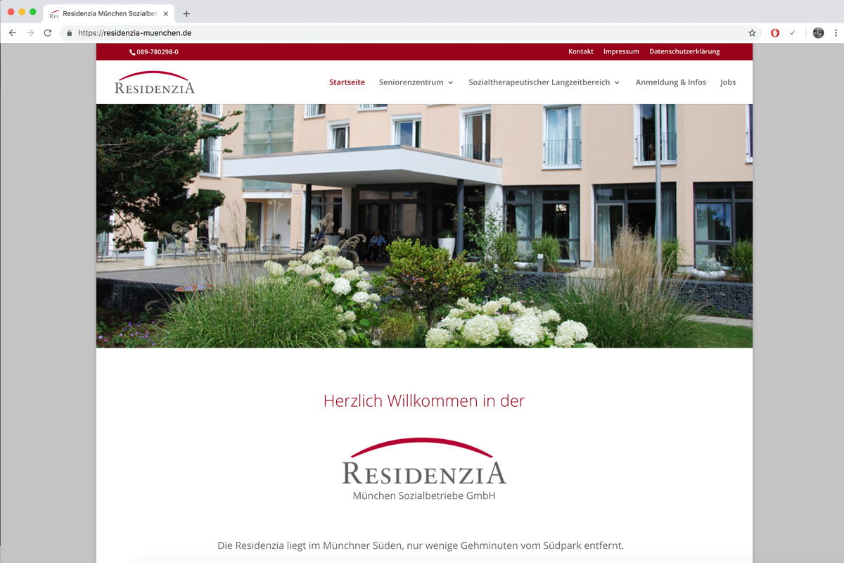 residenzia-webdesign