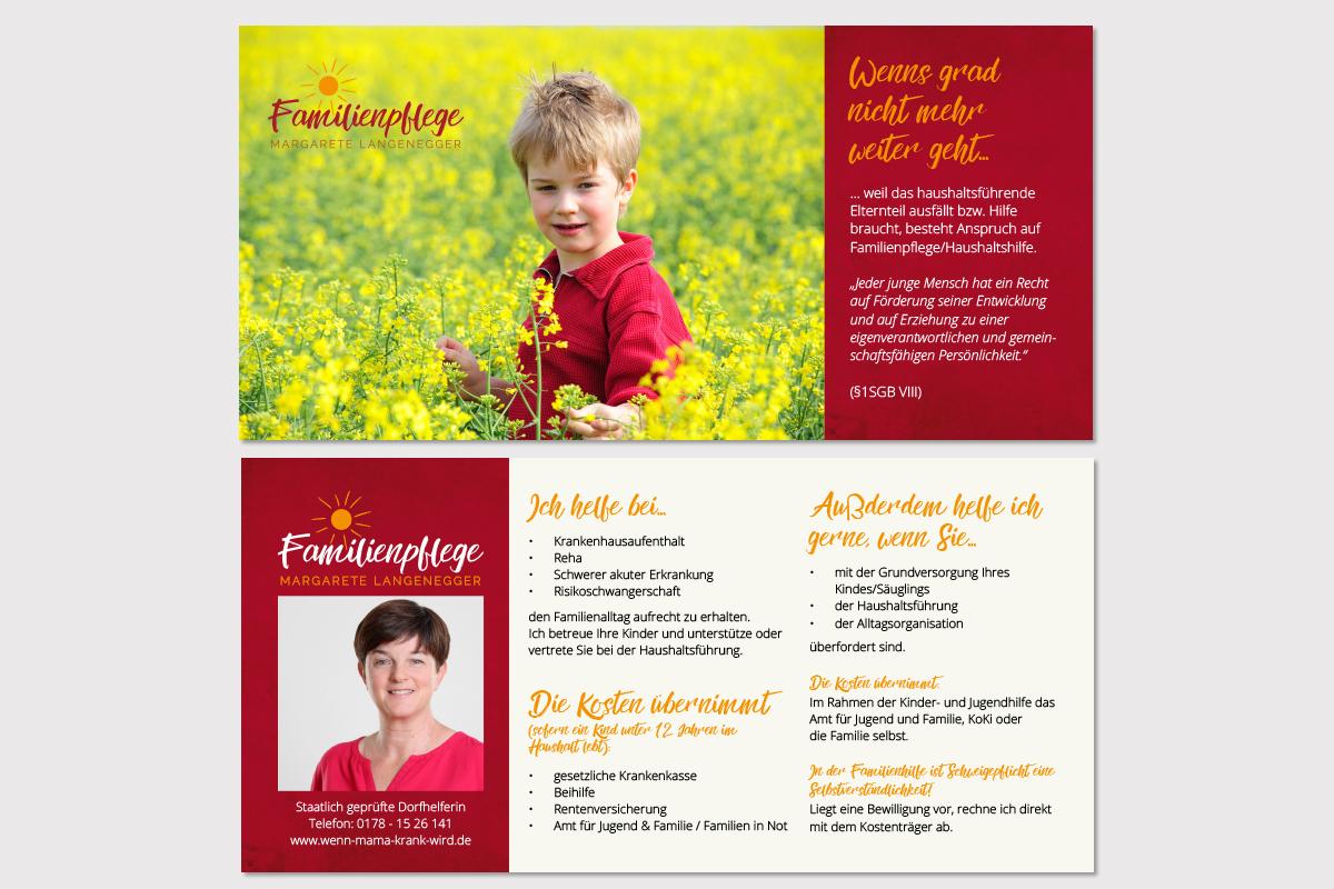 Familienpflege-Flyer-purplemedia