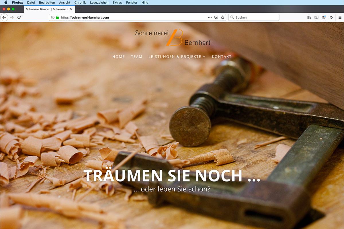 schreinerei-bernhart-webdesign
